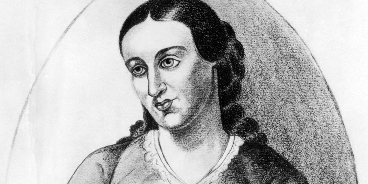 Margaret Fuller's Manifesto, 1845, American (1810-1850)by Maria Dintino