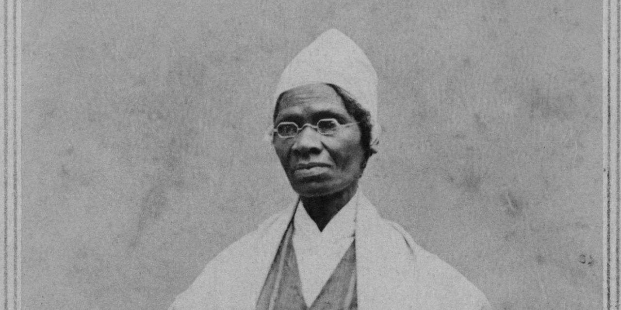 Sojourner Truth: A Wandering Orator, American (c. 1797-1883) Original painting and text by Karin Peschau