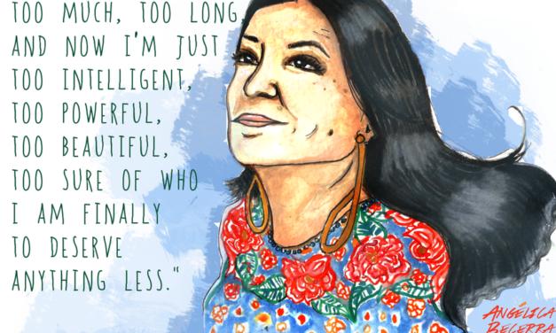 The Good Stuff: Update on Woman Writer Sandra Cisneros