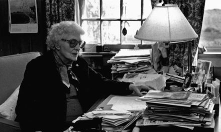 May Sarton: Leaping the Waterfalls (1912-1995 American)