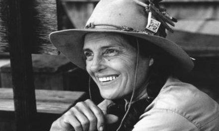 "Carol Ruckdeschel: ""Tireless defender of sea turtles"" (American b. 1941)"