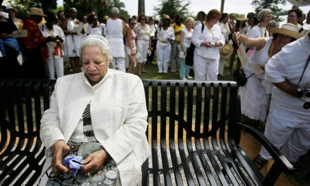 Memorials to the Victims of the Middle Passage: Listening to Woman Writer Toni Morrison